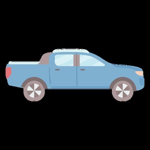 Pick-up vehicle side flat