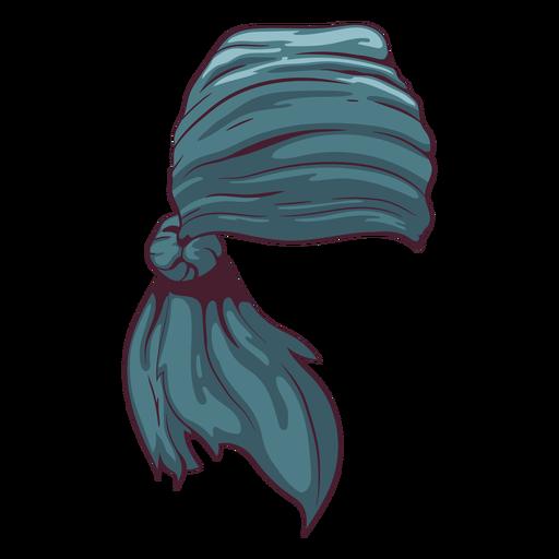 Pirate headscarf illustration