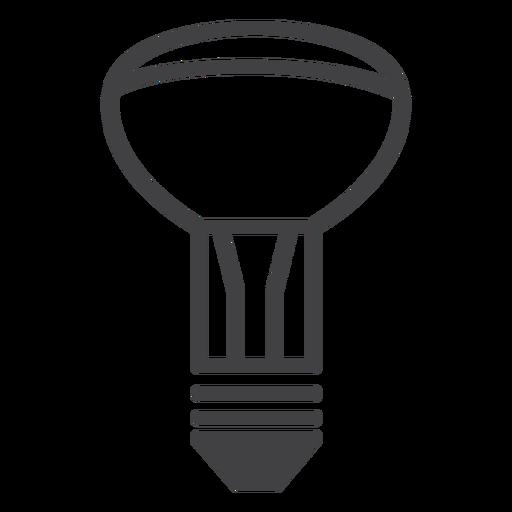 Reflector light-bulb stroke