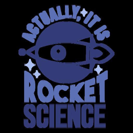 Rocket science badge