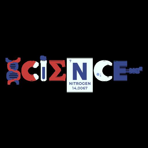 Science elements badge