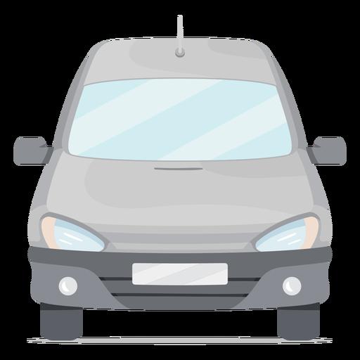 Small van front flat