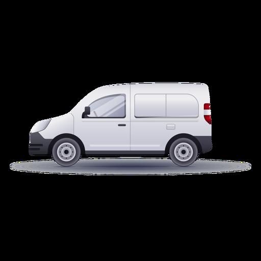 Small van side realistic