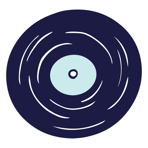 Doodle de disco de vinilo