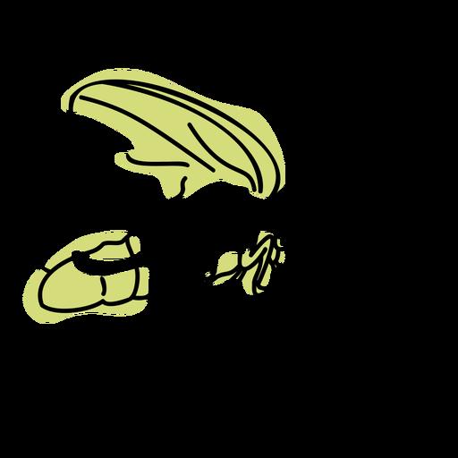 Color stroke semi colored firefly