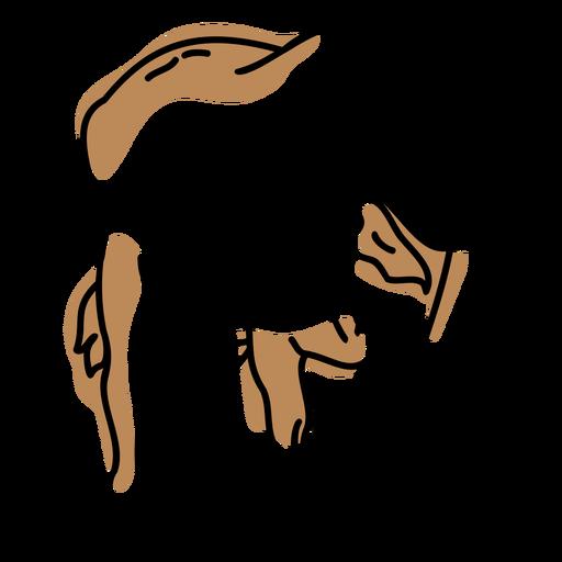 buffalo color stroke Transparent PNG