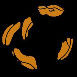 Hamster color stroke
