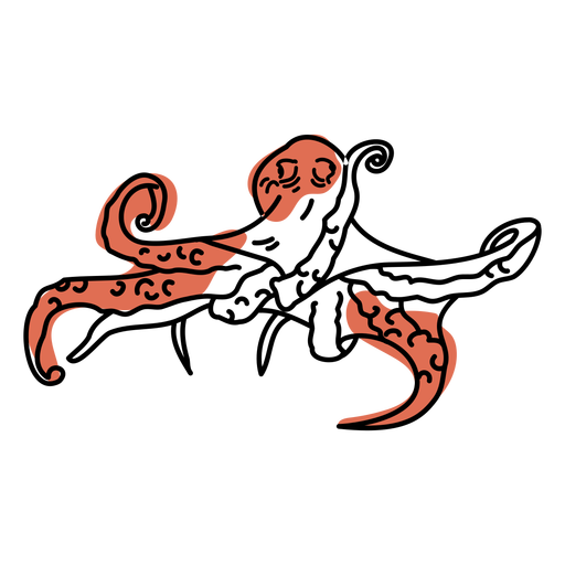 Octopus water stoke