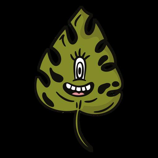 Desenho animado assustador da natureza - 10
