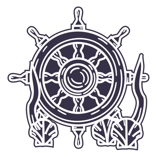 Underwater ships rudder