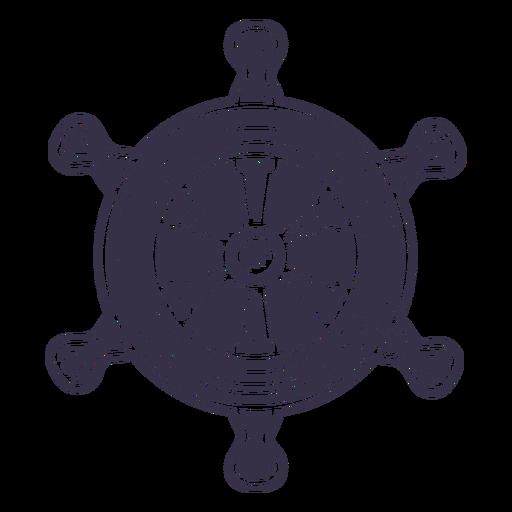 Ships rudder steering