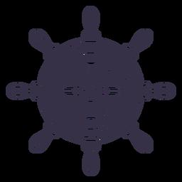 Rudder ship sea transport