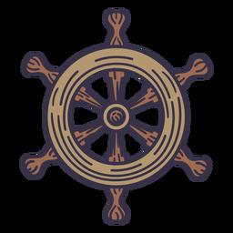Ships rudder illustration
