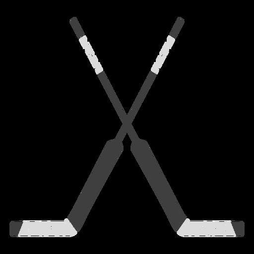 Double hockey sticks sport