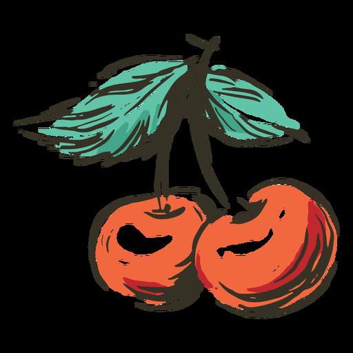 Cherries fruit nature