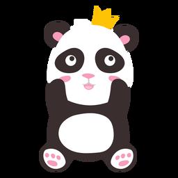 Panda princess cute