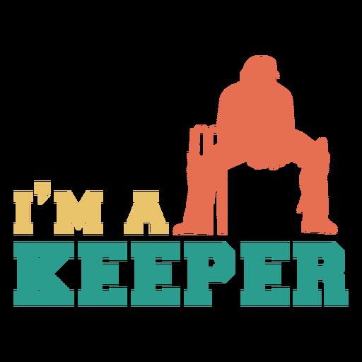 Cricket sport player keeper