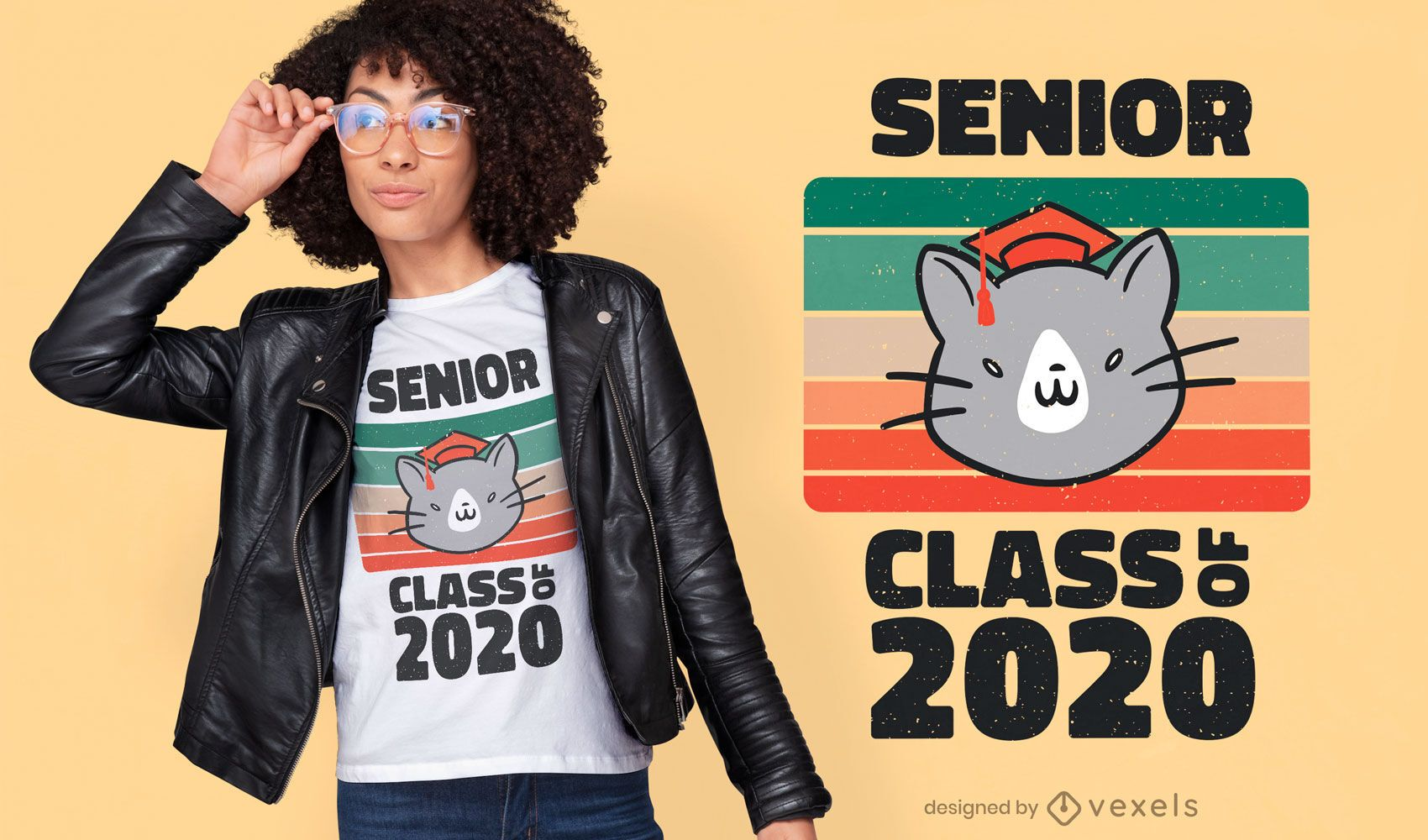 Senior class quote t-shirt design