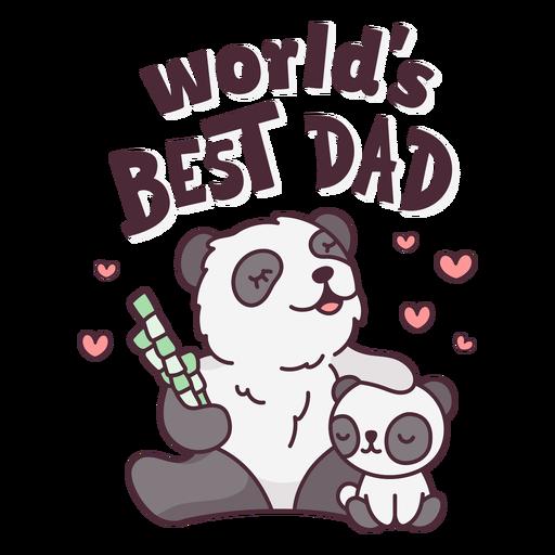Fathers day pandas cute