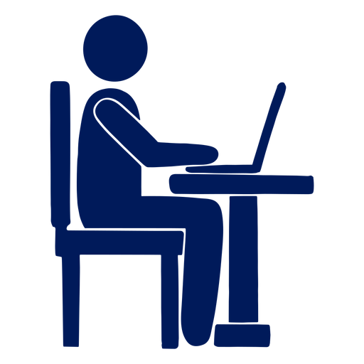 Good posture cut out