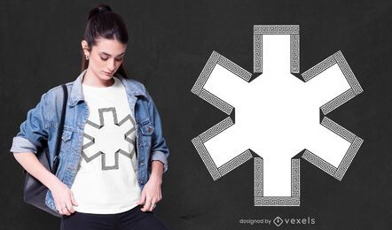 Star of life t-shirt design