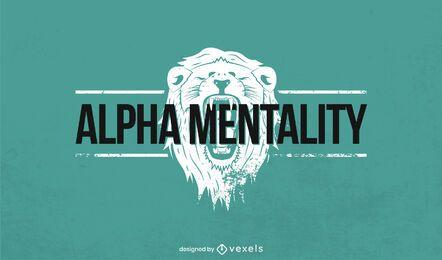 Plantilla de logotipo de león rugiente