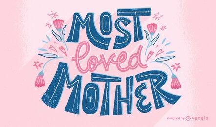 Letras de la madre más amada