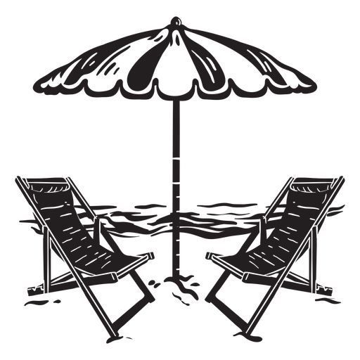 Beach_Images_Detailed Realistic Silhouette - 4