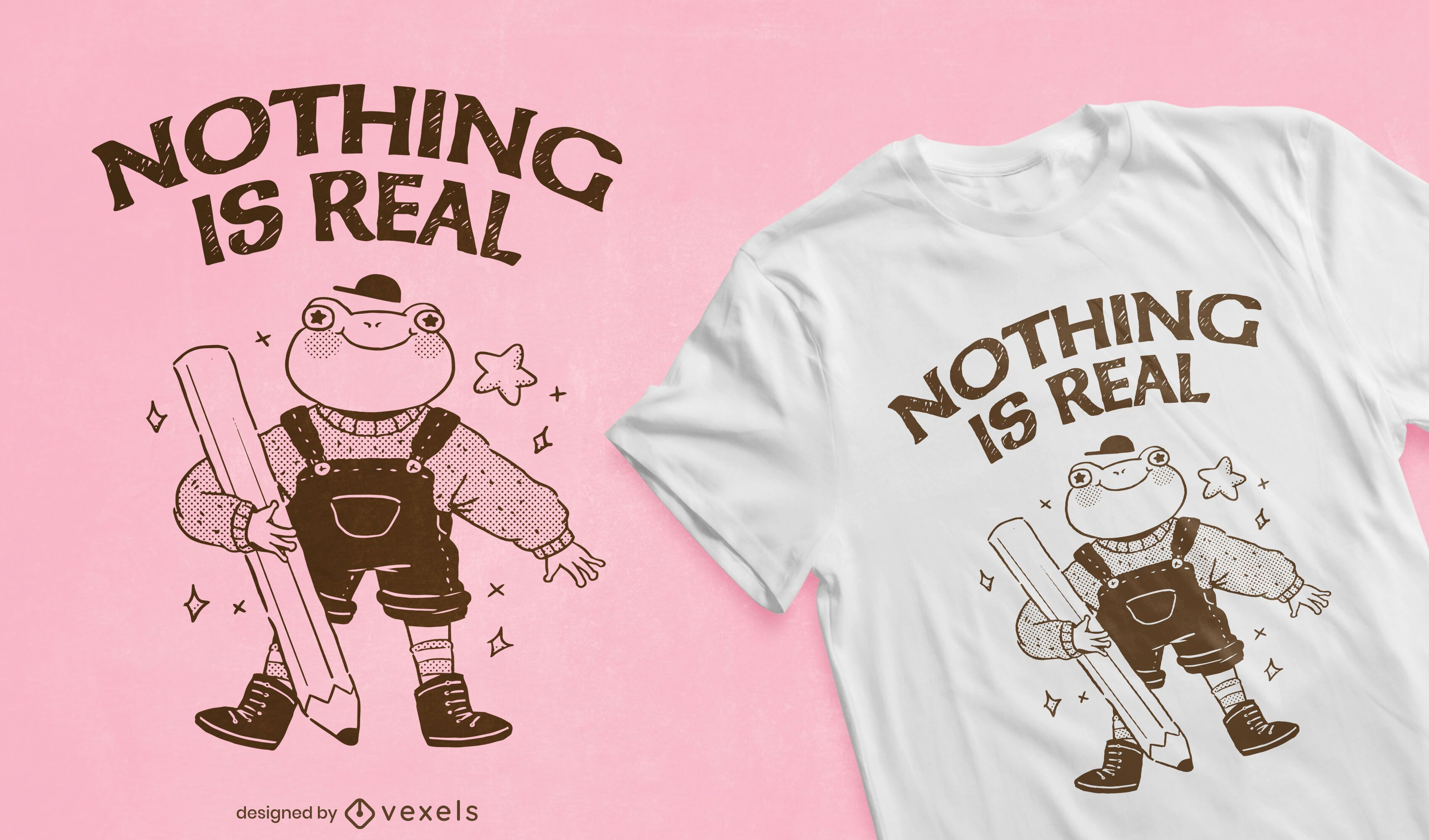 Diseño de camiseta de cita real