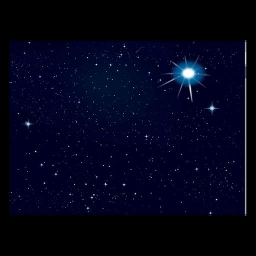 Space night sky star