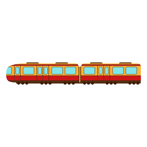Yellow train transport