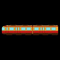 Electric train color stroke