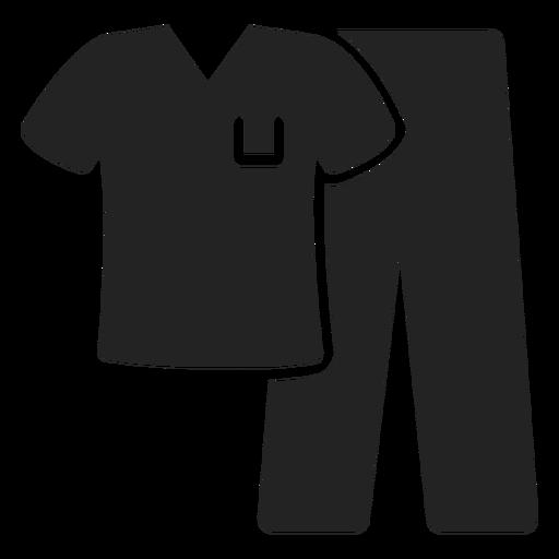 Nurse uniform cut out