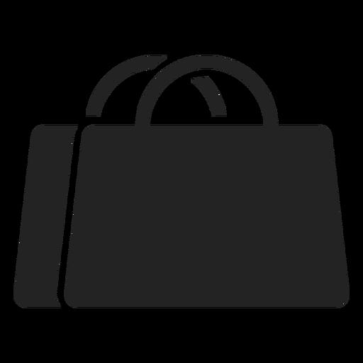 Shopping bag e-commerce cut out