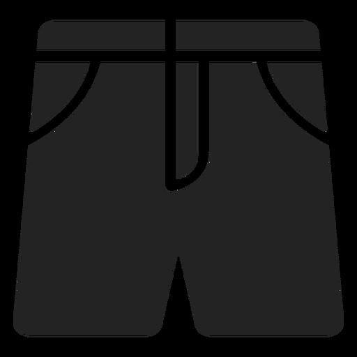 Beach shorts cut out