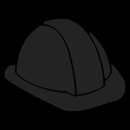 Construction helmet cut out