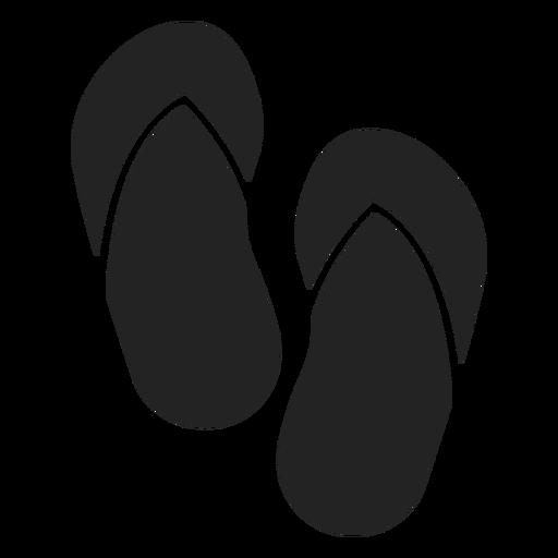 Flip flops cut out