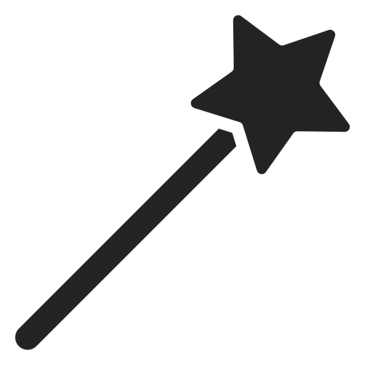 Fairy wand cut out