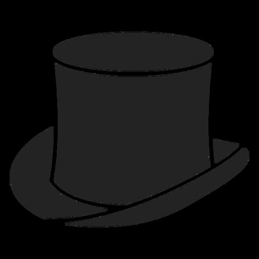 Magician top hat cut out