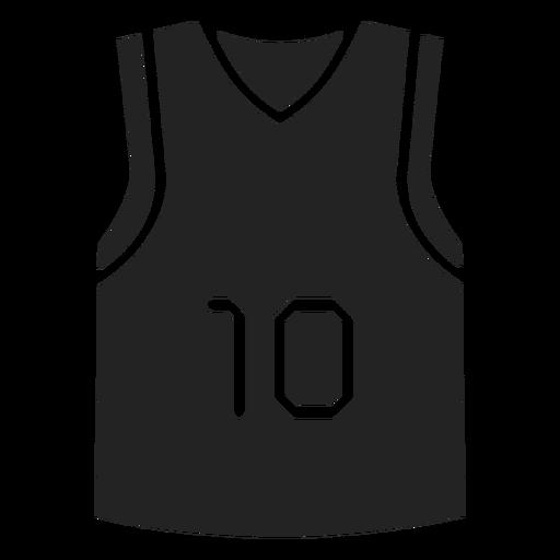 Basketball t-shirt cut out