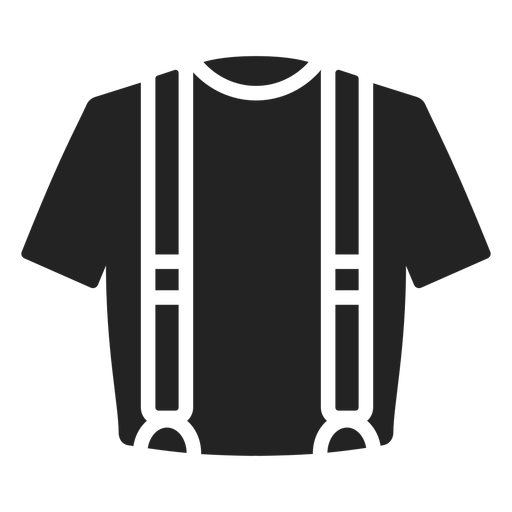 Suspenders cut out