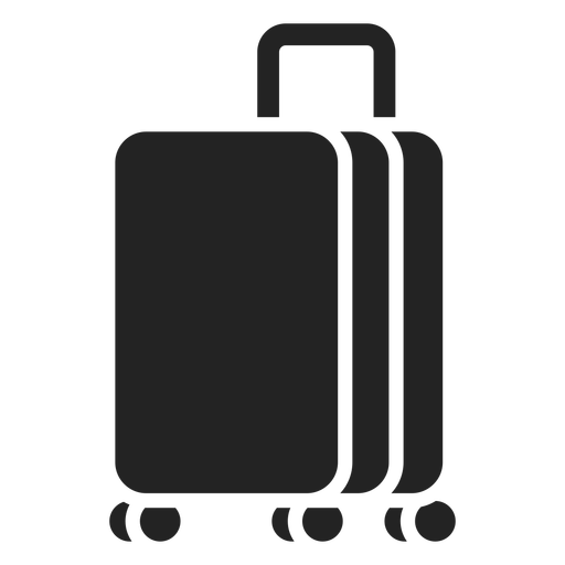 Luggage cut out