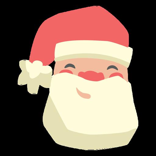 Santa Claus semi flat