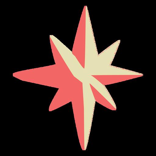 Star tree topper semi flat