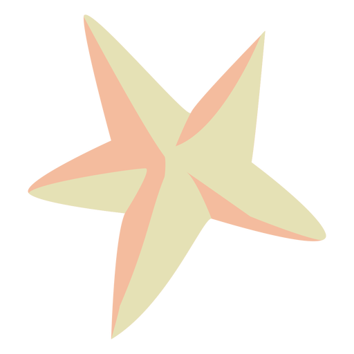 Christmas star semi flat