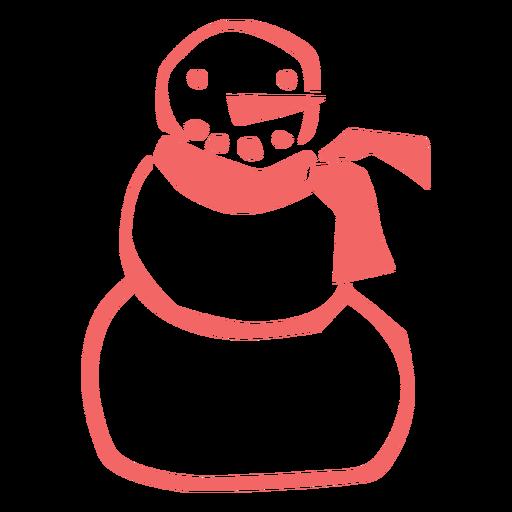 Snowman cut out