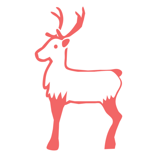 Christmas reindeer cut out