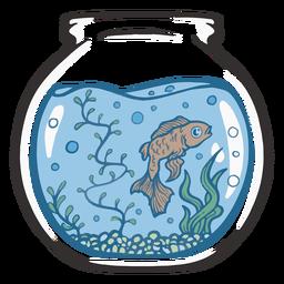 Fishtank golden fish