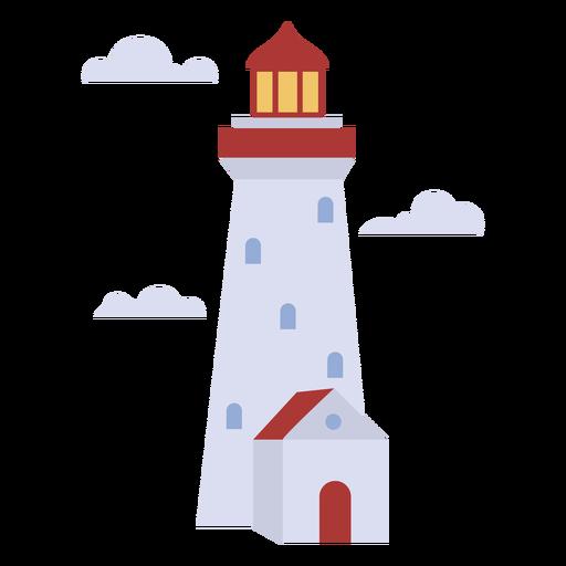Lighthouse simple flat