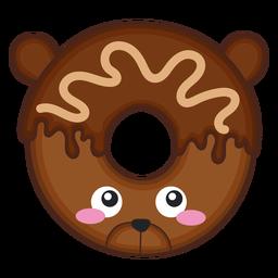Bear donut kawaii